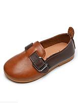 cheap -Girls' Sandals Comfort PU Little Kids(4-7ys) Yellow / Khaki Spring / Summer