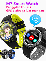 cheap -JSBP PM7 Men Women Smartwatch Custom Dial Android iOS Bluetooth Waterproof Touch Screen GPS Heart Rate Monitor Blood Pressure Measurement Timer Stopwatch Pedometer Call Reminder Activity Tracker
