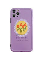 cheap -Case For Apple iPhone 7 8 7plus 8plus x xs xr xsmax SE 11 11pro 11promax Pattern Back Cover Word Phrase Flower TPU