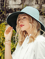 cheap -Headwear Casual Cotton Hats with Splicing 1pc Casual / Daily Wear Headpiece