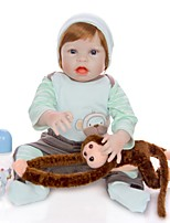 cheap -KEIUMI 22 inch Reborn Doll Baby & Toddler Toy Reborn Toddler Doll Baby Boy Gift Cute Washable Lovely Parent-Child Interaction Full Body Silicone 23D65-C234-T45 with Clothes and Accessories for Girls