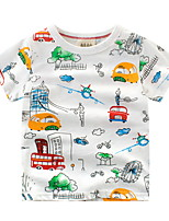 cheap -Kids Boys' Street chic Animal Short Sleeve Tee White