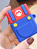 cheap -For Apple Bluetooth Headset Airpods 1 2 Cute Cartoon Super Mario Toad Shockproof Silicone earphone Protection Cover Case