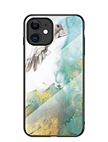 cheap -Case For Apple iPhone 7 8 7plus 8plus x xs xr xsmax 11 11pro 11promax se Pattern Back Cover Marble TPU Tempered Glass PC