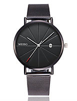 cheap -Men's Sport Watch Quartz Modern Style Stylish Classic Calendar / date / day Analog - Black Blushing Pink Gold / Chronograph / Large Dial