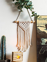 cheap -Nordic style tassel wall hanging home day bohemian woven tapestry wall hangings