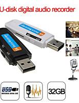 cheap -U-Disk Digital Audio Voice Recorder Pen USB Flash Driveupto 32GB Micro SD TF