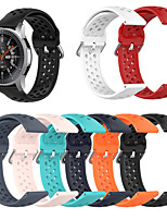 cheap -22mm Silicone Watchband For Huawei Watch GT 2e / Watch GT2 46mm Sport Replacement Bracelet Band Strap