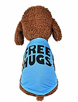 cheap -dog clothes for small dogs boy yorkies girl chihuahua summer fall - puppy cat shirt freehugs vest tank tops - pet schnauzer female male clothing