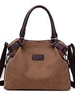 cheap -Women's Bags Canvas Top Handle Bag Zipper for Daily / Date Fuchsia / Sky Blue / Gray / Coffee