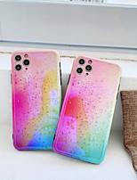 cheap -Case For Apple iPhone 7 plus 8 plus XR XS XS MAX X SE 11 11Pro 11ProMax Pattern Back Cover TPU Color Gradient