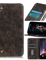cheap -Case For Motorola MOTO E6 E6Plus E6S E6Play G8 G8Power G8Play G8Plus P40Power P40Play One Action One ZOOM One Pro One Hyper Card Holder Shockproof Magnetic Full Body Cases Solid Colored PU Leather TPU