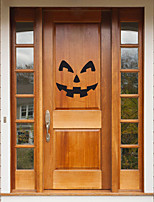 cheap -Halloween Party Halloween Decor Horror Ghost Halloween Wall Stickers Decorative Wall Stickers, PVC Home Decoration Wall Decal Wall Decoration / Removable