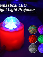 cheap -Car Home Ambient Lights LED Projector Lamps Remote 7 Mode Lighting Shows 3 speed Relaxing Soothing Starry sky Ocean sky Moon light Water pattern laser Stage light Night light for Baby Kids Adults