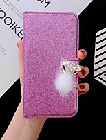 cheap -Case For iPhone SE(2020) iPhone 11 Pro Max iPhone Xs Max Wallet / Card Holder / with Stand Glitter Shine Fox PU Leather Case For iPhone 7 8 iPhone 7 Plus 8 Plus XR X XS iPhone Se 5S