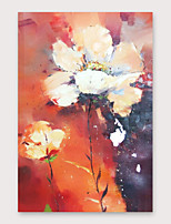 cheap -IARTS Hand Painted floret Oil Painting with Stretched Frame For Home Decoration With Stretched Frame