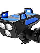 cheap -bike headlight led usb rechargeable bicycle front light, waterproof bright cycling light with bike phone mount & power bank,cycle headlight safety for night