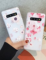 cheap -Case For Samsung Galaxy Note 8 9 10 10Plus J7 J7Prime J8 A5(2018) A8(2018) Ultra-thin Transparent Pattern Back Cover Flower TPU