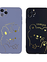 cheap -Case For iphone 7 8 7p 8p X XS MAX XR 11 11 PRO 11 PRO MAX   Pattern Back Cover Word  Phrase TPU