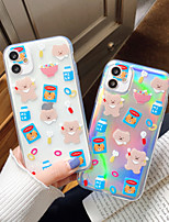 cheap -Case For Apple iPhone 7 plus 8 plus XR XS XS MAX X SE 11 11Pro 11ProMax Pattern Back Cover TPU Animal