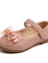 cheap -Girls' Flats Comfort / Ballerina PU Little Kids(4-7ys) / Big Kids(7years +) Walking Shoes Pink / Gold Summer / Fall