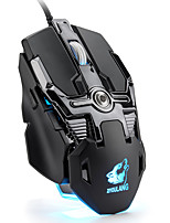 cheap -V15 Wired USB Optical Gaming Mouse Mechanical mouse Ergonomic Mouse RGB Light 6400/3200/2400/1600/1200/800 dpi 6 Adjustable DPI Levels 8 pcs Keys 8 Programmable Keys