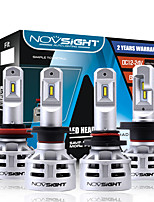 cheap -NOVSIGHT 2pcs H7 / H11 / 9005(HB3) Car Light Bulbs 60 W 10000 lm LED Headlamps For universal General Motors All years