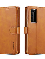 cheap -lc.imeeke Leather Case For Huawei Huawei Y9 Enjoy9 Plus Y5 Honor 8S Mate20 Mate20 Pro Mate 20 Lite Honor 8X Mate 10 Mate 10 Lite Mate 10 Pro P30 Card Holder Flip Full Body Cases Colored PU Leather