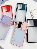 cheap -Case For Huawei P20 P20Pro P30 P30Pro P40 P40Pro P40Pro plus Nova 5 5Pro 6 6SE 7 7Pro Mate 20 20Pro 30 30Pro Honor V30 V30Pro Shockproof Frosted Transparent Back Cover Transparent Solid Colored TPU PC
