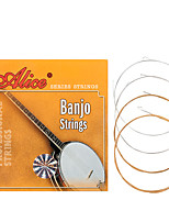 cheap -NAOMI Alice Banjo Strings AJ04 Plated Steel Coated Copper Alloy Wound Strings Banjo Accessories
