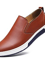cheap -mens slip on shoes fashion sneakers casual loafers brown 11.5