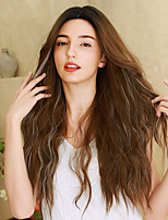 cheap -Synthetic Wig Ombre Cosplay Wig Wavy Body Wave Middle Part Side Part Wig Very Long Ombre Brown Synthetic Hair 26 inch Women's Cosplay Party Color Gradient Brown Ombre BLONDE UNICORN