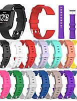 cheap -Watch Band for Fitbit Versa Fitbi Versa Lite Fitbit Versa2 Fitbit Classic Buckle Silicone Wrist Strap