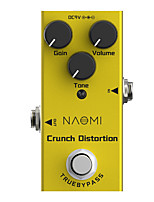 cheap -NAOMI Electric Guitar Effect Pedal Crunch Distortion Pedal Mini Single NEP-03 DC 9V True Bypass Guitar Effects Pedal