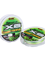 cheap -PE Braided Line / Dyneema / Superline 8 pcs Fishing Line 10M / 11 Yards PE 100LB 0.8,1.0,1.2,1.5,2.0,2.5,3.0,3.5,4.0,4.5,5.0,6.0,7.0,8.0 mm Sea Fishing Freshwater Fishing Lure Fishing