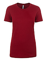 cheap -next level women's signature style boyfriend jersey t-shirt, xxx-large, scarlet