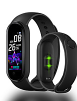 cheap -HM5 Smart Wristband BT Fitness Tracker Support Notify /Heart Rate Monitor Compatible with IOS/Android Phones