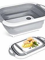 cheap -dish rack plates holder kitchen storage multi-board collapsible basket folding dish washing sink 4 in 1 cutting board portable drain basin for kitchen fruit vegetable