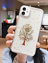 cheap -Case For  iPhone 7 8 7plus 8plus X XR XS XSMax SE(2020) iPhone 11 11Pro 11ProMax Shockproof Ultra-thin Pattern Back Cover Transparent Tree TPU