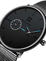 cheap -BEN NEVIS Men's Steel Band Watches Quartz Modern Style Stylish Casual Water Resistant / Waterproof Analog Blue Red / Stainless Steel / Stainless Steel / Calendar / date / day