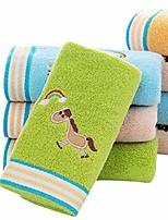 cheap -cotton children towel soft absorbent animal pattern wash towel bath sheets 25x50cm