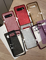 cheap -Case For Samsung Galaxy S9 S9 Plus S8 Plus S7 S7 Edge S8 S10 S10E S10 Plus S10 5G Ring Holder  Glitter Shine Back Cover Glitter Shine TPU