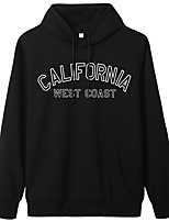 cheap -Women's Hoodie Artistic Style Hoodie Letter Printed Sport Athleisure Pullover Long Sleeve Warm Soft Oversized Comfortable Everyday Use Exercising General Use