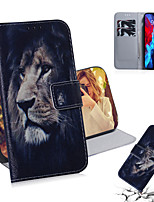 cheap -Case For Apple iPhone 11 iPhone 11 Pro iPhone 11 Pro Max iPhone 12  Card Holder Flip Pattern Full Body Cases Animal PU Leather