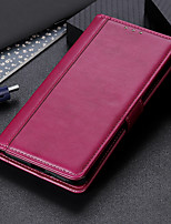 cheap -Case For Apple iPhone 11 iPhone 11 Pro iPhone 11 Pro Max iPhone SE 2020 iPhone 7 iPhone 8 Card Holder Flip Full Body Cases Solid Colored PU Leather