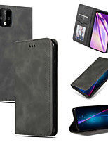 cheap -Case For Google Pixel 3 Pixel 3 XL Pixel 3A Pixel 3A XL Pixel 4 Pixel 4XL Card Holder Flip Full Body Cases Solid Colored PU Leather TPU