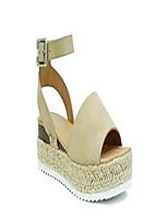 cheap -little kids/children/girls topic-iis espadrille flatform wedge open toe sandals (13 little kid, taupe)