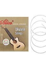 cheap -NAOMI Alice Ukulele Strings AU04 Black/Clear Nylon Strings Guitar Accessories