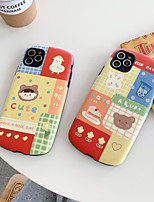 cheap -Case For Apple iPhone 7 8 X XS XR XS max  11 11 Pro 11 Pro Max Pattern Back Cover Word Phrase Cartoon TPU Embossed cute