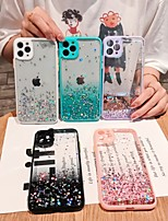 cheap -Case For iPhone 7 8 7plus 8plus X XR XS XSMax SE(2020) iPhone 11 11Pro 11ProMax Shockproof Ultra-thin Glitter Shine Back Cover Transparent Glitter Shine TPU